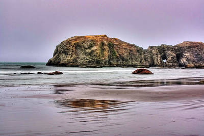 Bandon Beach Oregon Art Print
