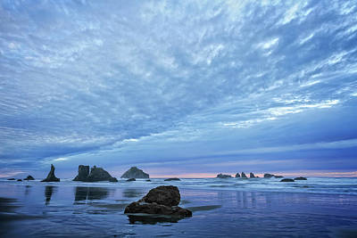 Photograph - Bandon Blue by Wes and Dotty Weber