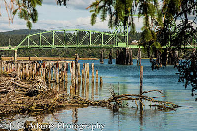 Photograph - Bandon Drawbridge by Jim Adams
