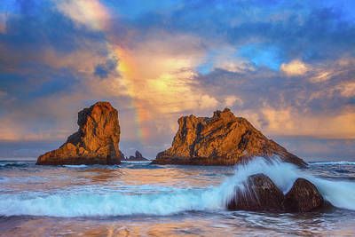 Photograph - Bandon Rainbow by Darren White
