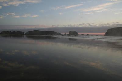 Photograph - Bandon Reflection I by Dylan Punke