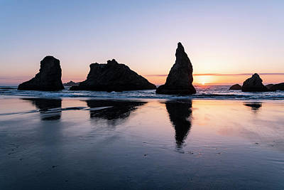 Photograph - Bandon Reflections In Time by Steven Clark
