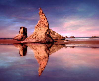 Photograph - Bandon Reflections by Micki Findlay