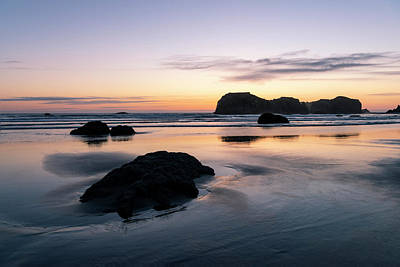 Photograph - Bandon Reflections by Steven Clark