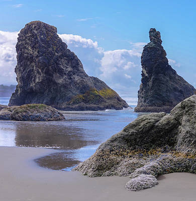 Photograph - Bandon Sea  Stacks by Steven Clark