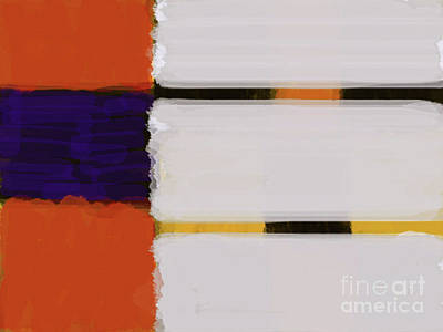 Painting - Bands30-3 by Roberto Perez