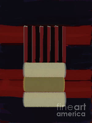 Painting - Bands31-7 by Roberto Perez