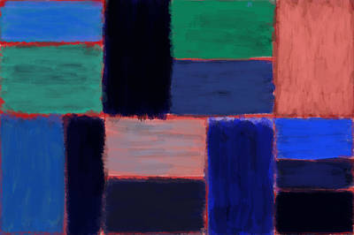 Painting - Bands37-1 by Roberto Perez