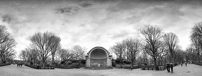 Photograph - Bandshell Pano by Dave Beckerman