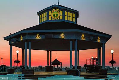 Photograph - Bandstand At Dawn by Fran Gallogly