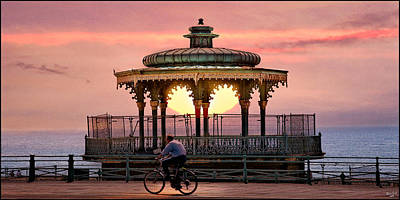 Photograph - Bandstand by Chris Lord