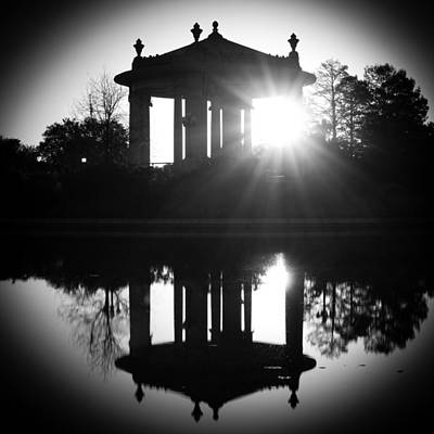 Photograph - Bandstand by Scott Rackers
