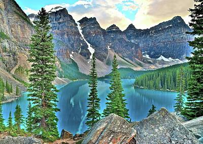 Photograph - Banff 20$ View by Frozen in Time Fine Art Photography