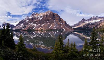 Photograph - Banff - Bow Lake by Terry Elniski