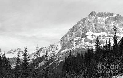 Photograph - Banff Canada Mountain Classic Snow Landscape by Andrea Hazel Ihlefeld