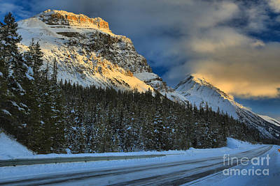 Photograph - Banff Evening Glow by Adam Jewell