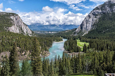 Photograph - Banff - Golf Course by John Johnson