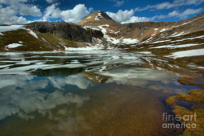 Photograph - Banff Helen Lake Landscape by Adam Jewell