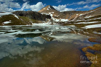 Photograph - Banff Helen Lake Landscape by Adam Jewell