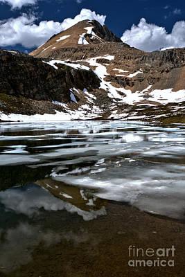 Photograph - Banff Helen Lake Portrait by Adam Jewell