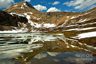 Photograph - Banff Helen Lake Reflections by Adam Jewell