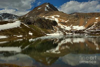 Photograph - Banff Helen Lake Summer Reflections by Adam Jewell