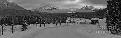 Photograph - Banff Highway 1 by Adam Jewell