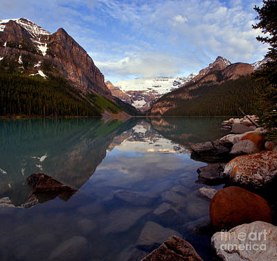 Photograph - Banff - Lake Louise Scenic by Terry Elniski