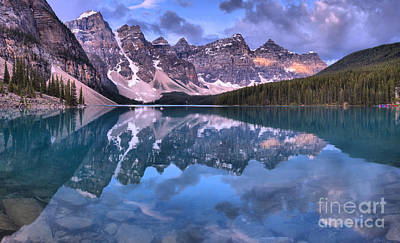 Photograph - Banff Mountains In The Sky by Adam Jewell