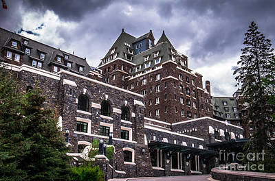 Photograph - Banff Springs Hotel by Blake Webster
