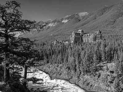 Photograph - Banff Springs Hotel by Mark Mille