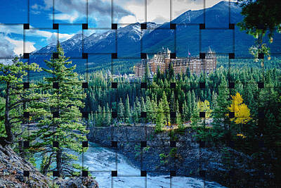 Photograph - Banff Springs Hotel by Thomas Nay