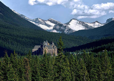 Photograph - Banff Springs by Jim Hill
