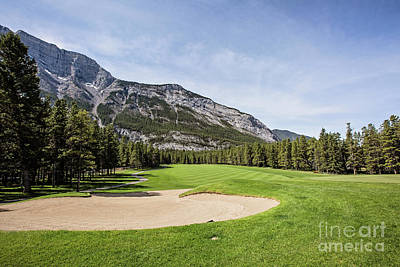 Banff Springs No 6 Art Print