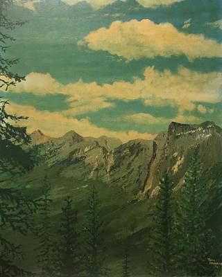 Painting - Banff by Terry Frederick