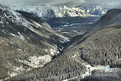 Photograph - Banff Valleys And Peaks by Adam Jewell