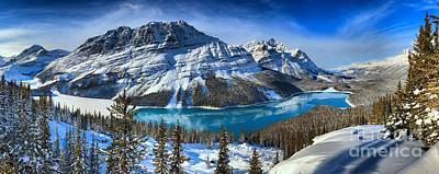 Photograph - Banff Winter Paradise by Adam Jewell