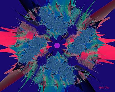 Bang Art Print by Robin Foss