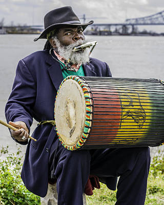Photograph - Bang That Drum by Chris Coffee
