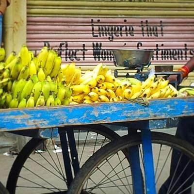 Banana Photograph - #bangalore #bangaluru #banana #foodpic by Antonella Pasquale