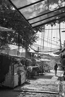 Bangkok Back Streets Art Print by Georgia Fowler