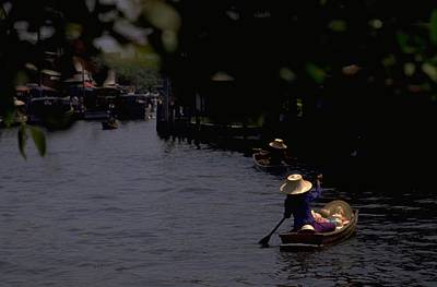 Bangkok Floating Market Art Print