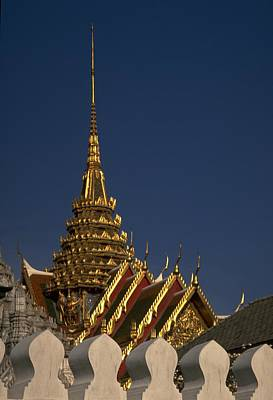 Travel Pics Royalty-Free and Rights-Managed Images - Bangkok Grand Palace by Travel Pics