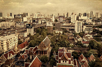 Photograph - Bangkok by Maria Coulson