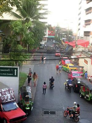 Photograph - Bangkok by Mireille Roc