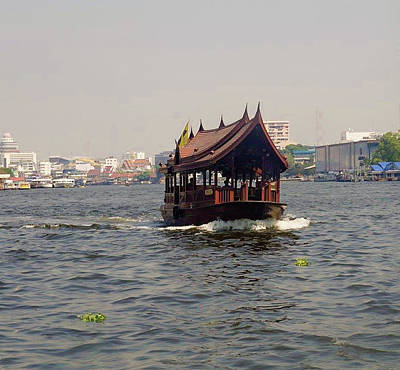Photograph - Bangkok Riverboats by Mireille Roc