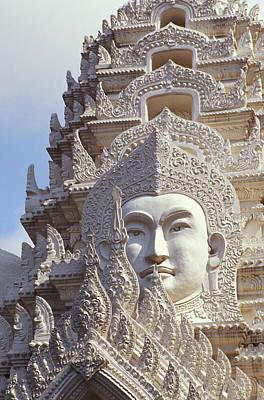 Bangkok, Wat Ratchapradt Art Print by Bill Brennan - Printscapes