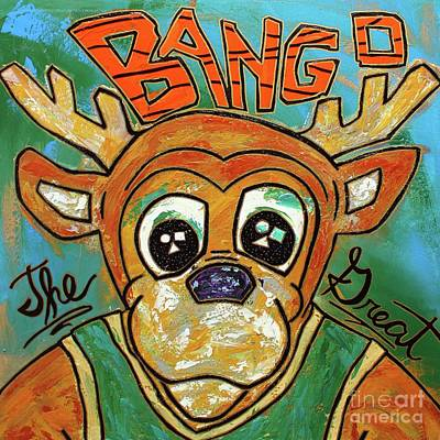 Bango The Great Art Print