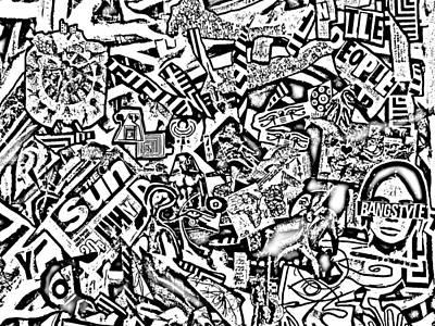 Bangstyle Art Print by Alef Ariyeh Asher ben Gershion