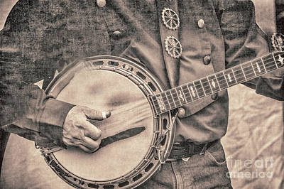 Photograph - Banjo Man 2 by Pamela Williams